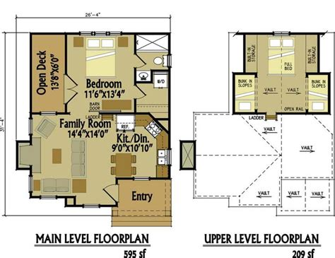 Vacation Cottage Plans Small Cottage Floor Plan With Loft Small Cottage Designs Tiny Houses