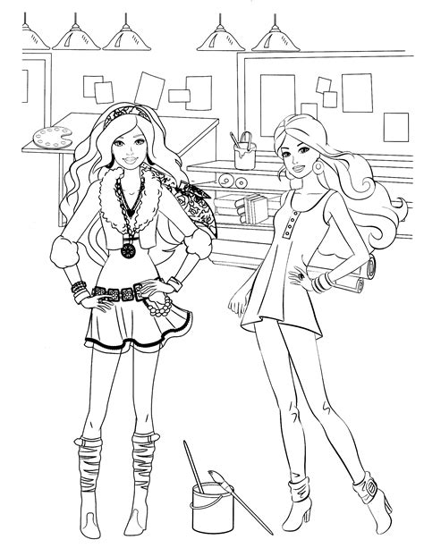 barbie coloring pages pinterest barbie coloring page color me happy pinterest