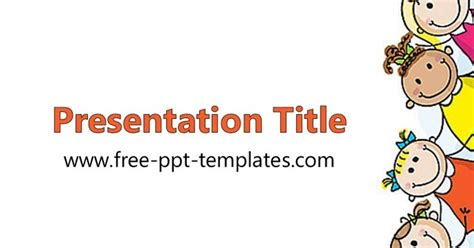 Kids Ppt Template Kid Powerpoint Templates