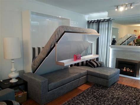 Hideaway, Foldable & Convertible Beds: 20 Ideas for Small Spaces   Home Interior Design, Kitchen