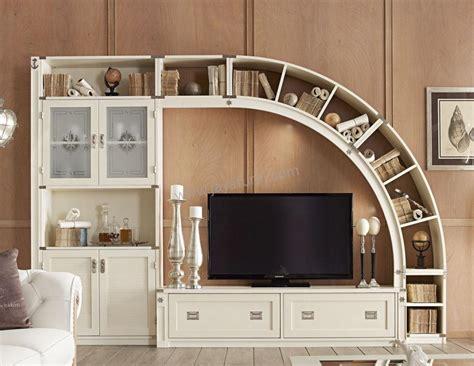 Rak Tv Kayu Mahoni bufet tv jepara modern rak buku lengkung jayafurni mebel