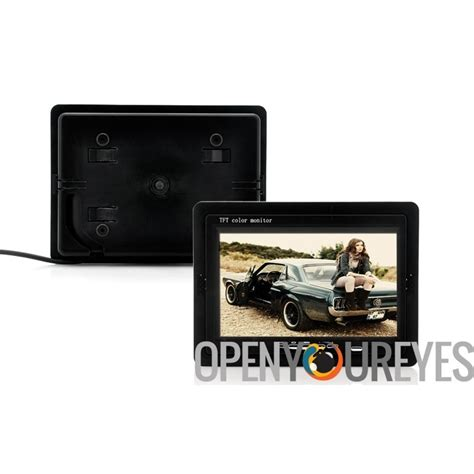 800 Degrees Gift Card - 7 inch car headrest monitor 800x480 130 degrees viewing angle black lcd tft