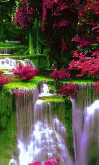 colorful waterfalls beautiful colorful pictures and gifs waterfall cascada