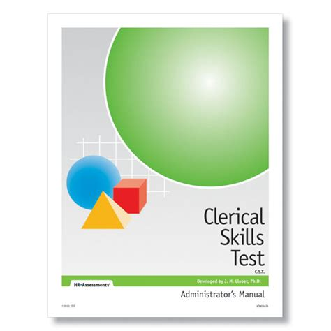 clerical skills test