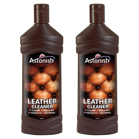 Sofa Leather Cleaner 2 X 235ml Astonish Leather Suite Cleaner Sofa Restorer Conditioner Ebay