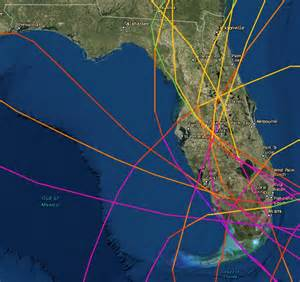 see every florida s path for the past 100 years