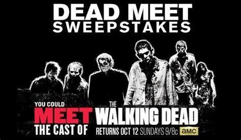 Amc Dead Sweepstakes - amc dead meet sweepstakes sweepstakesbible
