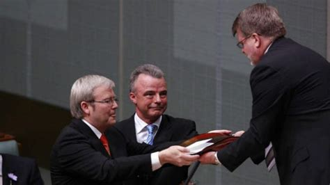 Apology Letter Kevin Rudd Signed Sorry Day Apology Returned To National Sorry Day Committee