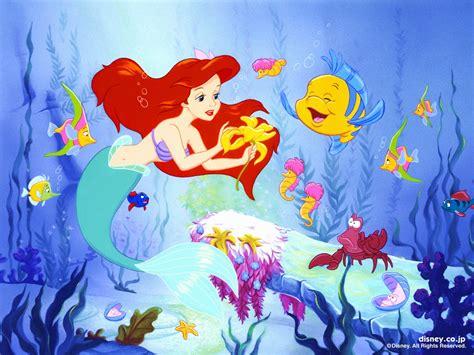 little mermaid disney cartoon fishes hd wallpaper little mermaid hd wallpapers