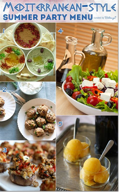 mediterranean menu dinner menu ideas for hosting a mediterranean style summer