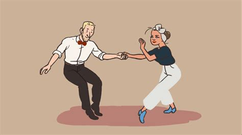 swing out lindy hop swing out is awsome even if it is animated fckn jazz it up