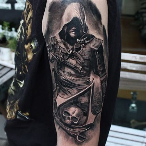 amazing assassin s creed tattoos page 2 tattoo artist