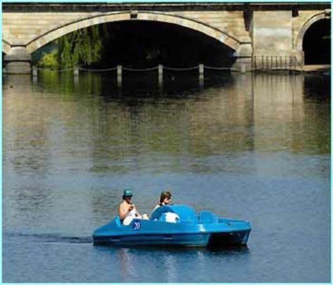pedal boat in hyde park cbbc newsround galleries uk s hot stuff