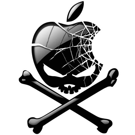 wallpaper apple skull apple skull j o n z