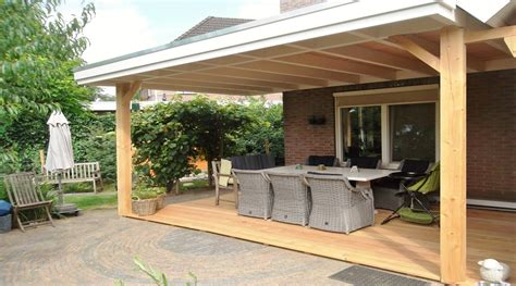 veranda zelfbouw veranda aan huis met plat dak www superveranda nl