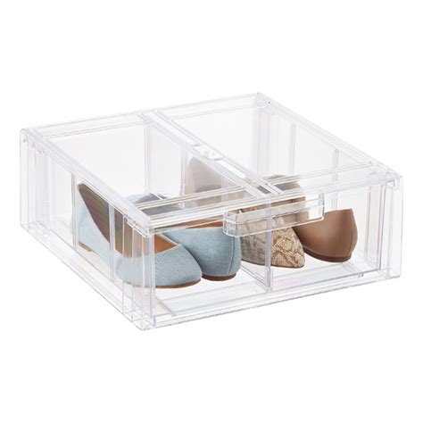 clear stackable drawers uk clear stackable shirt accessory drawer the container
