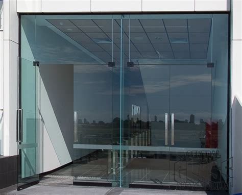 Frameless Glass Entrance Doors Buzz About Pivot Doors A Product Review By The Central Glass And Aluminium Team Cga