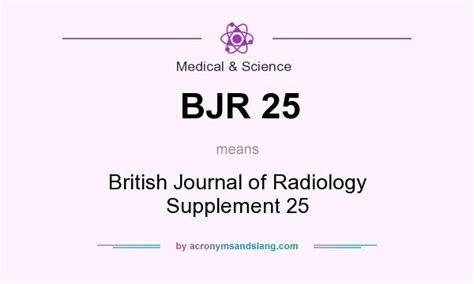 supplement abbreviation what does bjr 25 definition of bjr 25 bjr 25