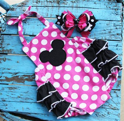 Jumper Baby Jumpsuit Bayi Perempuan Minnie Mouse Free Bandana Ok 17 best images about minnie mouse 1st birthday theme on