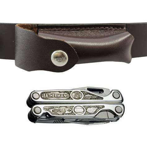 Leatherman Leather Pouch akubra brown leather belt koala leatherman pouch