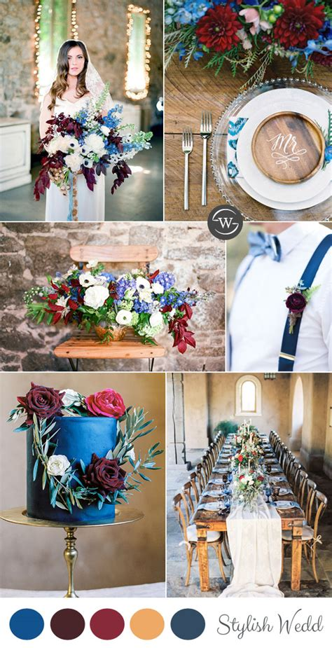 wedding color combos wedding trends 10 fantastic burgundy color combos for