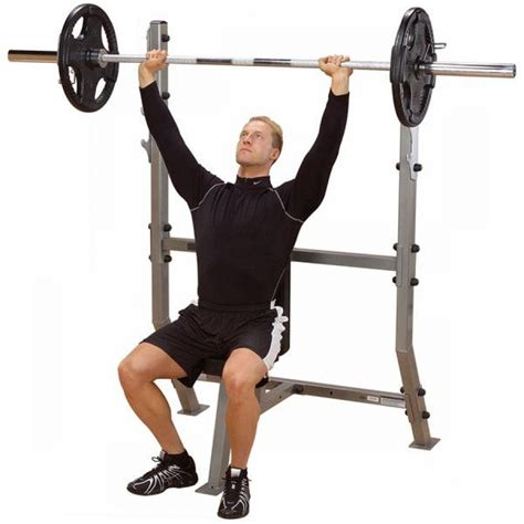 body solid olympic bench body solid pro clubline shoulder press olympic bench