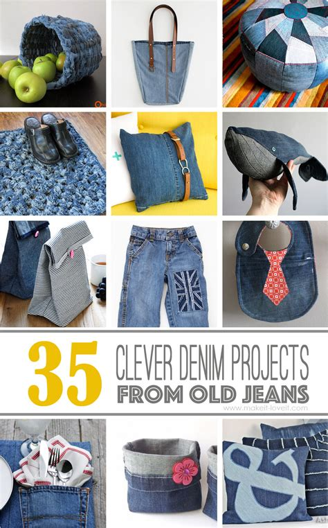 denim craft projects 35 clever projects that ll make it easier to part ways