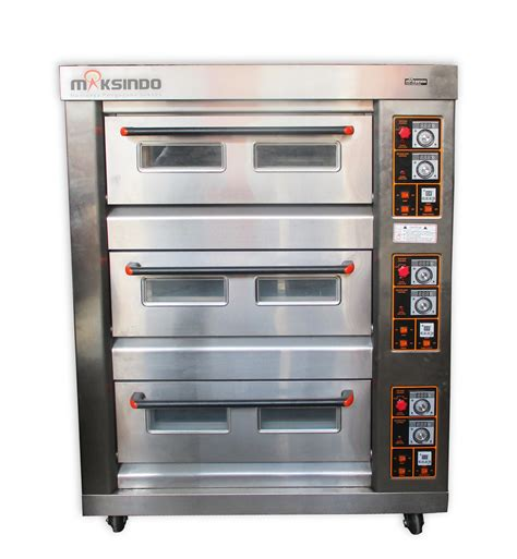 Oven Gas Di Bandung jual mesin oven roti gas 6 loyang mks rs36 di bandung