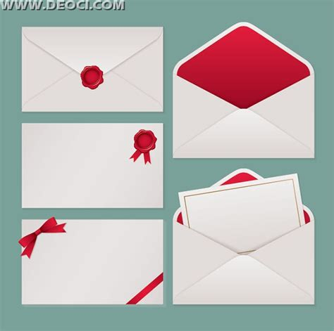 5 vector blank envelope design template ai file free