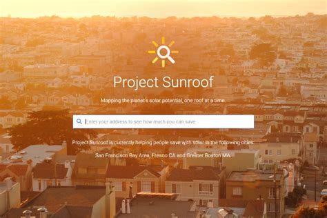 project sunroof google 171 inhabitat green design google knows your roof s solar potential architect