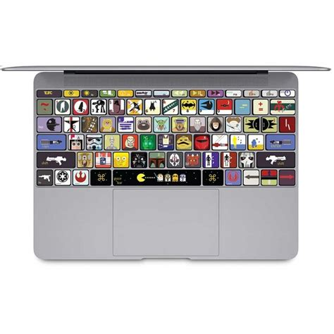 Macbook Keyboard Aufkleber by Krieg Der Sterne Tastatur Aufkleber F 252 R Macbook