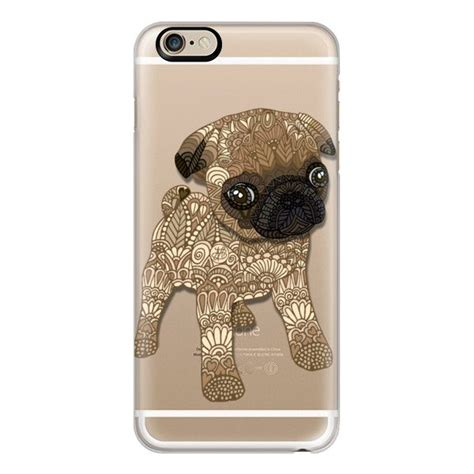 accessories for pugs iphone 6 plus 6 5 5s 5c pug puppy 40 liked on polyvore featuring accessories