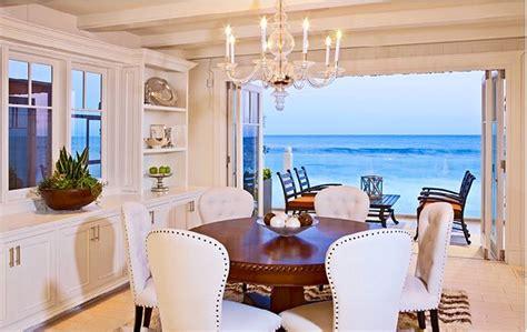 malibu dining room beach house dining rooms coastal living malibu colony beach house home bunch interior design ideas
