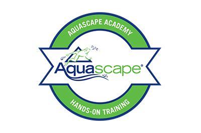 aquascape logo aquascape training