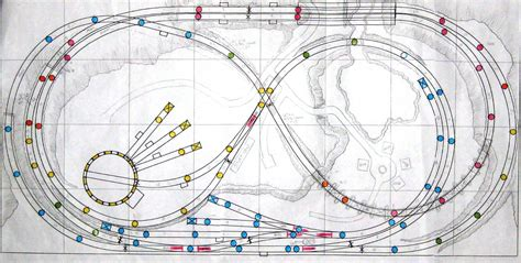 layout design model railroad initial track plan built with atlas right track software