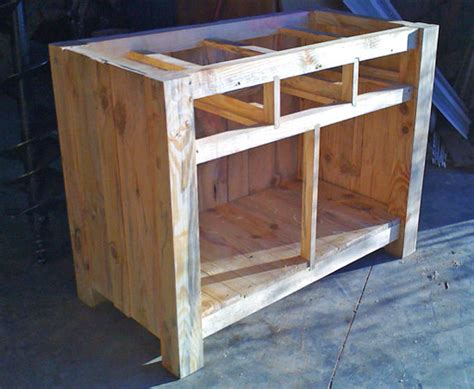 home built kitchen cabinets building a kitchen island part 3 enclosing the sides
