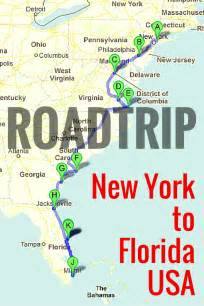us map atlanta to new york road trip along the east coast of usa east coast road