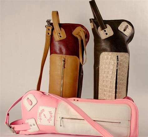 Personalized Handmade Bags - handmade custom made leather drumstick bags by dallas