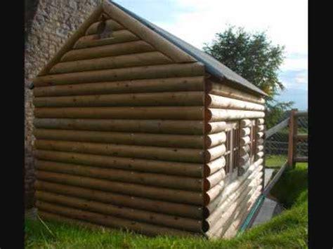 Landscape Timber Playhouse Child S Log Cabin Playhouse Wmv