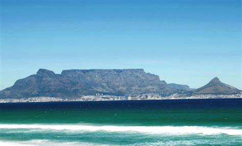 where is table mountain table mountain celebrated as 7 of nature
