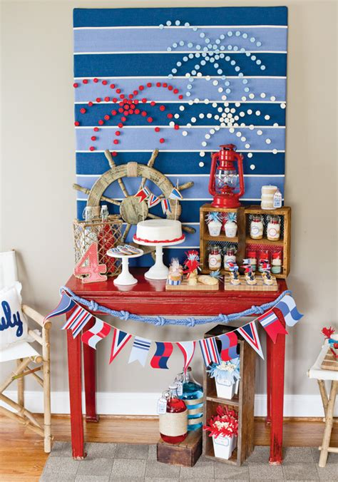 4th of july backyard party ideas 4th of july party ideas with a nautical twist hostess