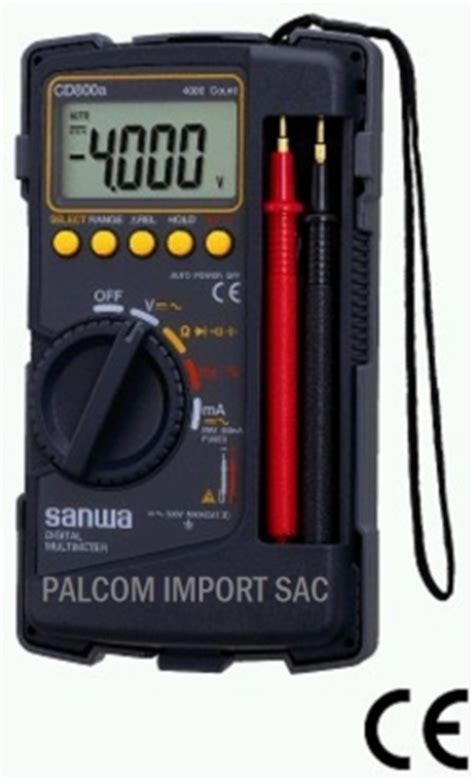 Multitester Sanwa Cd771 palcom import sac lima jr paruro 1314 tda 122 s semi