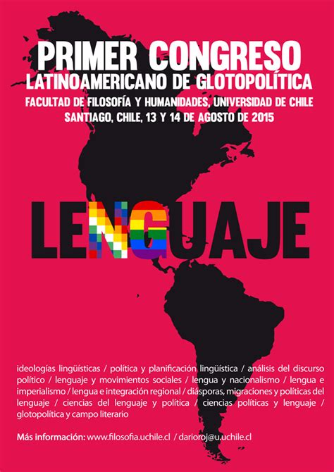 hidrolatam 2014 xii congreso latinoamericano de la lengua espa 241 ola en chile primer congreso