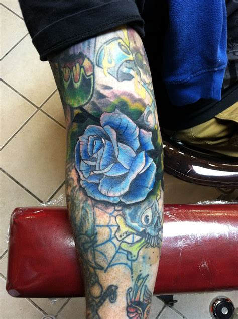 tattoo dayton ohio blue by erik kushner dayton ohio tattoos