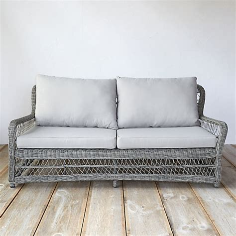 Curved Rattan Sofa Curved All Weather Wicker Sofa Terrain