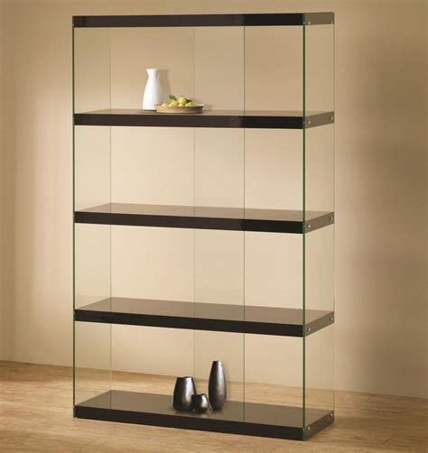 """""""Contemporary Glass Display Cabinet Showcase Antiques Collectibles"""""""