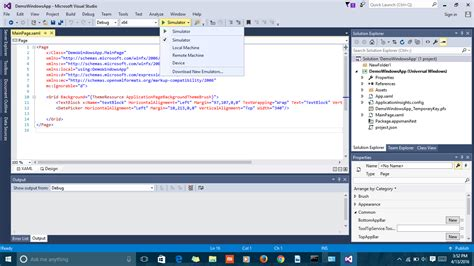 windows 10 visual studio 2015 tutorial visual studio 2015 community can t create a windows