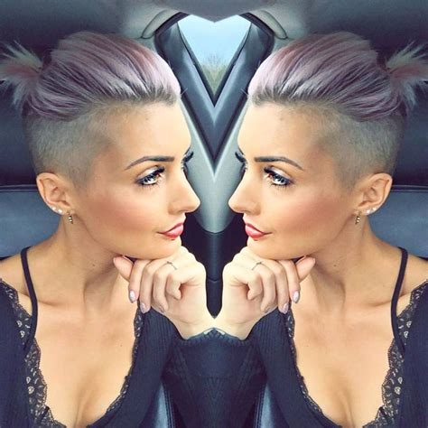 shaved hairstyles shapes for black women best 25 girls shaved hairstyles ideas on pinterest