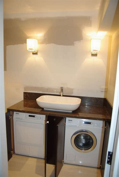 how to hide washer and dryer in bathroom incorporating washing machine in bathroom google search