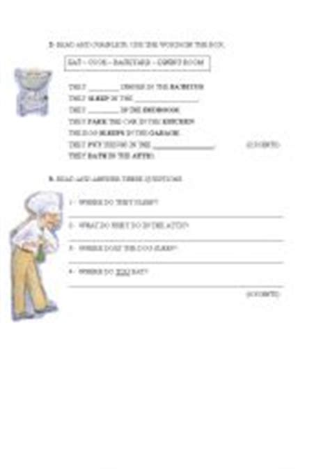 teaching worksheets reading comprehension